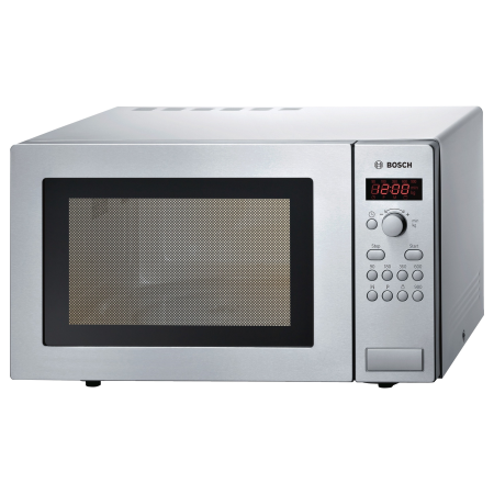 BOSCH HMT84M451B, Freestanding 900W Microwave Oven Brushed Steel