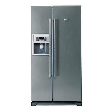 bosch kan58a45g american style side by side fridge. Black Bedroom Furniture Sets. Home Design Ideas
