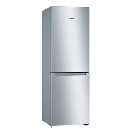 BOSCH KGN33NL3AG, 60cm Fridge Freezer with A++ Energy Rating in Stainless Steel