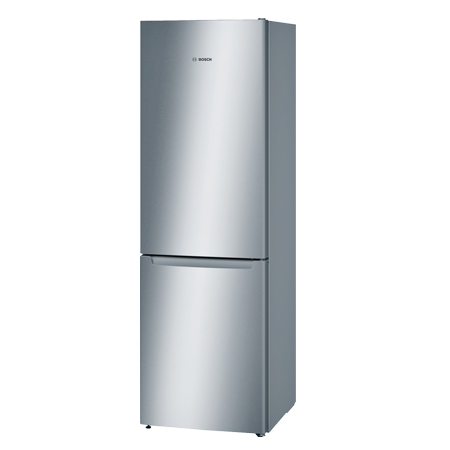BOSCH KGN36NL30G, 60cm No Frost Fridge Freezer - Colour Stainless Steel, A++ Energy Rating