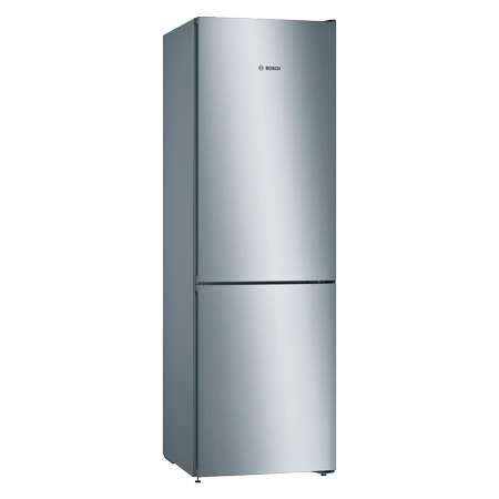 BOSCH KGN39VLEAG, Frost Free Fridge Freezer - Stainless Steel Effect - A++ Rated