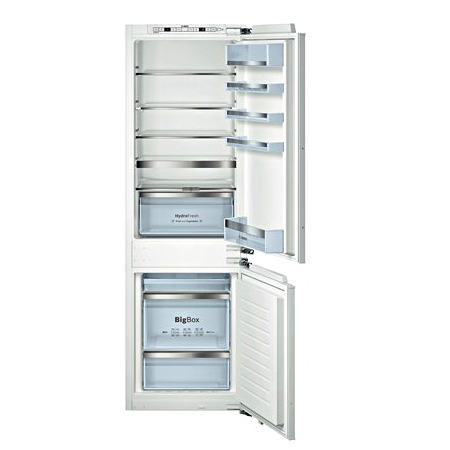 BOSCH KIN86AD30G, Logixx Built-In Frost Free Fridge Freezer with A++ Energy Rating