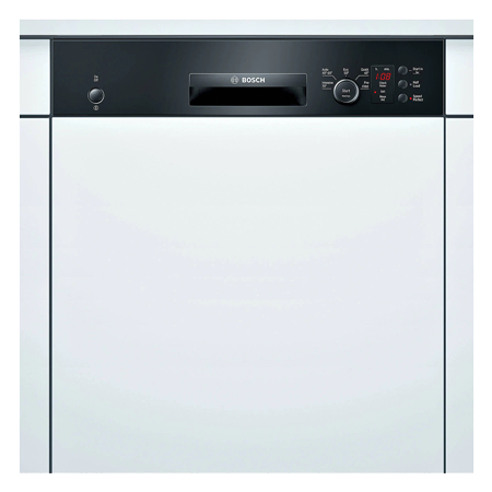 BOSCH SMI50C06GB, Classixx Semi-Integrated 60cm Dishwasher Black.Ex-Display