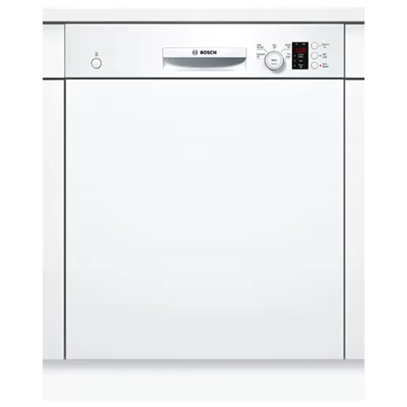 BOSCH SMI50C12GB, Semi-Integrated Built-in 60cm Dishwasher with A+ Energy Rating - White