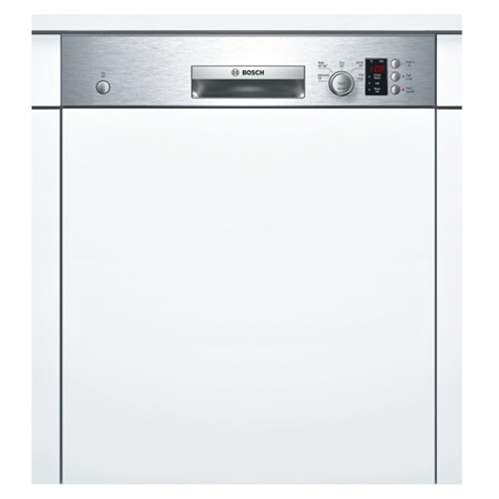 BOSCH SMI50C15GB, Semi-Integrated 60cm Dishwasher Silver