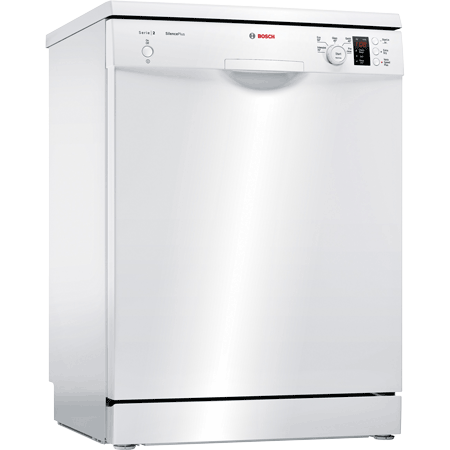 BOSCH SMS25AW00G, 60cm Freestanding Dishwasher with 12 place settings, A++ Rated Energy efficiency & 5 programmes. Ex-Display Model