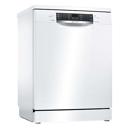 BOSCH SMS46IW04G, Standard Dishwasher - White - A++ Rated with 13 Place Settings