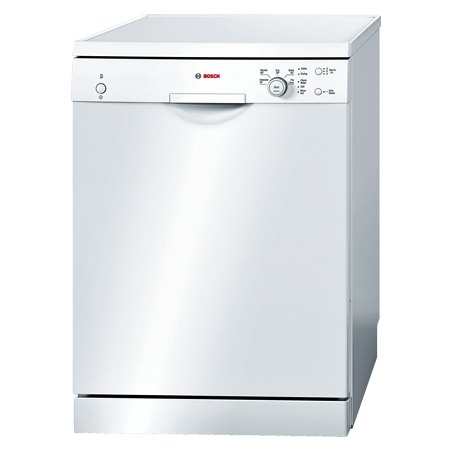 BOSCH SMS50C02GB, 60cm Dishwasher, 12 Place Settings with A+ Energy Rating, White. Ex-Display Model