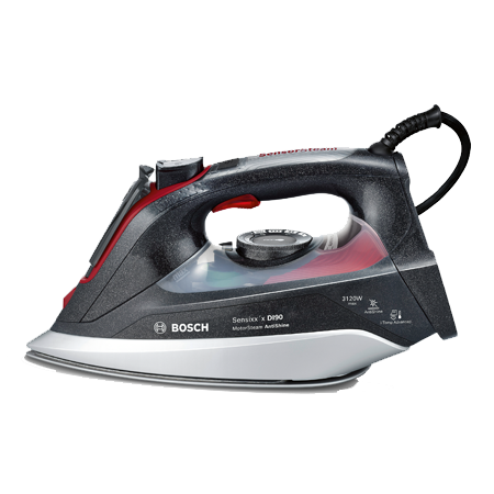 BOSCH TDI9020GB, Steam Iron - Grey / Red.Ex-Display Model