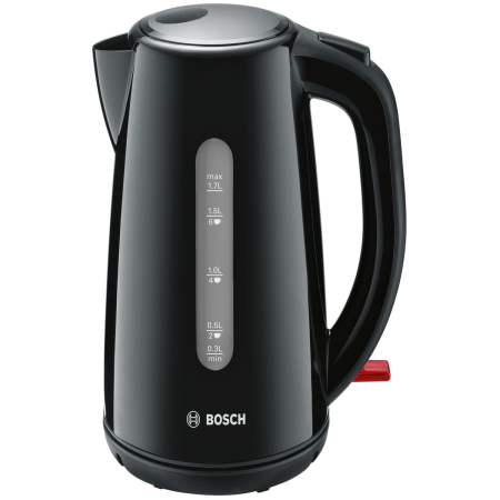 BOSCH TWK7503GB, Cordless Kettle with 1.7 Litre capacity