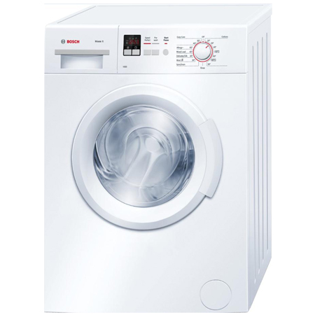 BOSCH WAB28162GB, 6kg  1400 rpm Automatic Washing Machine with A+++ Energy Rating - White