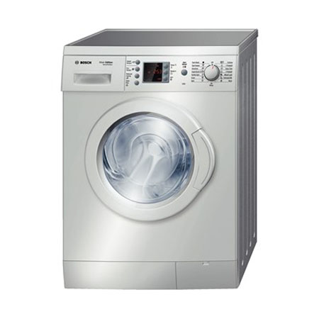 bosch wae244s1gb 7kg exxcel series varioperfect washing machine in silver. Black Bedroom Furniture Sets. Home Design Ideas