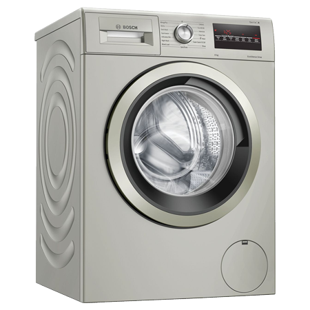BOSCH WAN282X1GB, 8Kg Washing Machine with 1400 rpm - Silver - A+++ Rated