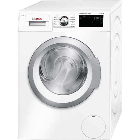 BOSCH WAT28660GB, 8kg Series 8 i-DOS Washing machine 1400 RPM and A+++ Energy Rating