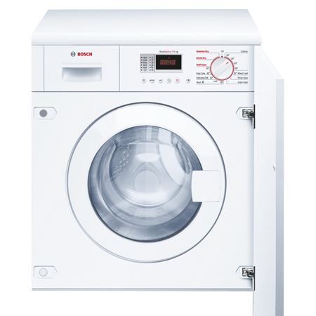 BOSCH WKD28351GB, Built-In 7Kg 1400rpm Washer Dryer White.Ex-Display Model