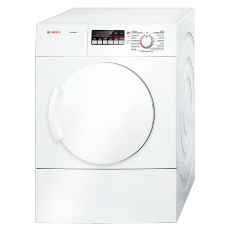 BOSCH WTA74200GB, 7 Kg Classixx Sensor Vented Tumble Dryer, C Energy Rating, White