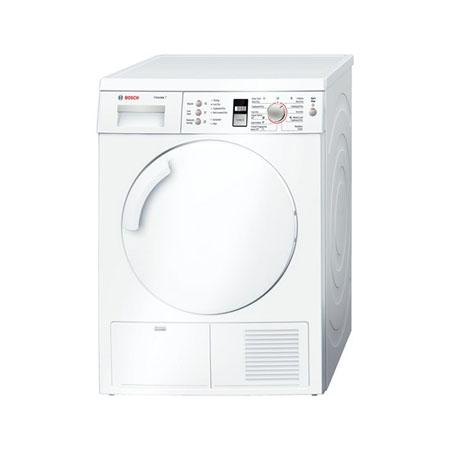 BOSCH WTE84301GB, 7kg Freestanding Condenser Dryer in White