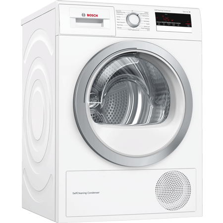 BOSCH WTM85230GB, 8kg Condenser Tumble Dryer with Heat Pump,  A++ Energy Rating in White.