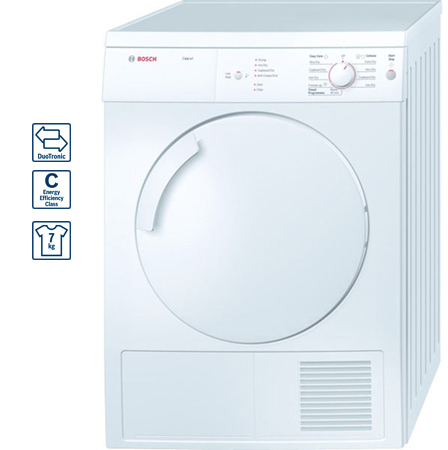 bosch wtv74104uk 7kg classixx series vented tumble dryer rh rgbdirect co uk bosch logixx 7/4 washer dryer manual Bosch Ventless Stackable Washer Dryer