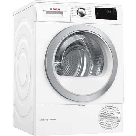 BOSCH WTW87660GB, 8kg Heat Pump Condenser Dryer