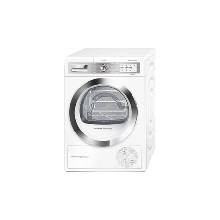 BOSCH WTYH6790GB, 9kg Heat Pump Condenser Tumble Dryer with A++ Energy Rating, White.Ex-Display Model