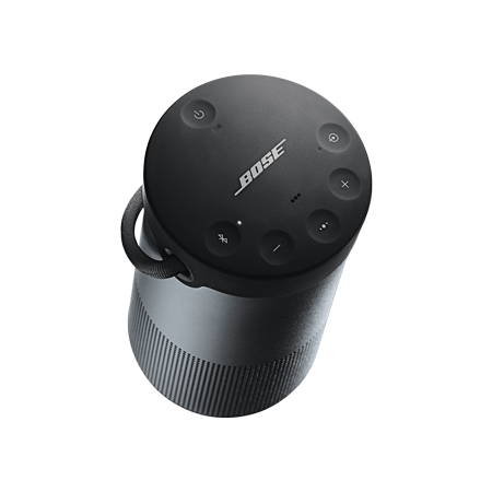 bose soundlink revolve plus triple black 360 sound portable bluetooth speaker in black. Black Bedroom Furniture Sets. Home Design Ideas