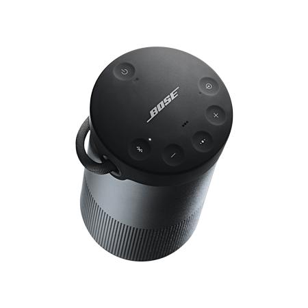 bose soundlink revolve plus triple black 360 sound portable bluetooth speaker in black. Black Bedroom Furniture Sets. Home Design Ideas