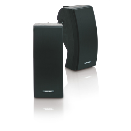 BOSE 251 Black, Wall Mounted Environmental Speakers