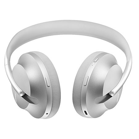 BOSE 700 Headphones Silver, Acoustic Noise Cancelling headphones with Google Assistant & Alexa built-in