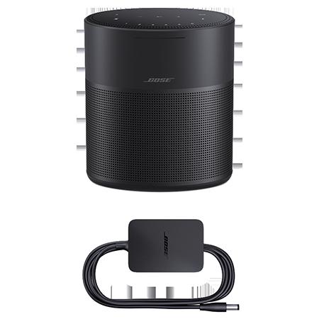 BOSE Home Speaker 300 Black, Home Speaker 300 Triple Black with Amazon Alexa & Google Assistant