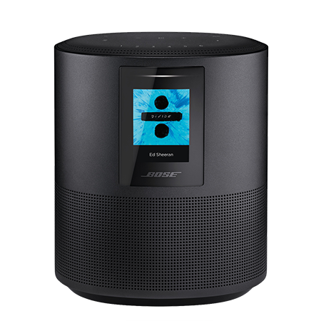 BOSE Home Speaker 500 Black, Home Speaker 500 Black with Google Assistant and Amazon Alexa voice control built in