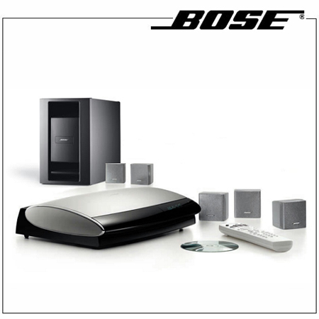 Bose lifestyle 18 series iii silver dvd home entertainment system