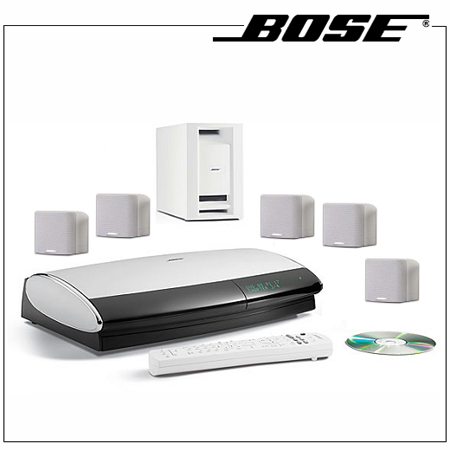 Bose lifestyle 18 series iii white home entertainment system