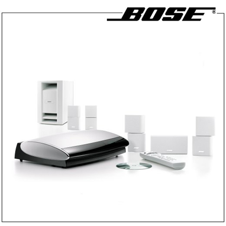 Bose lifestyle 28 series iii white home entertainment system
