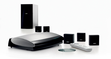 Bose lifestyle 18 series ii black home entertainment system