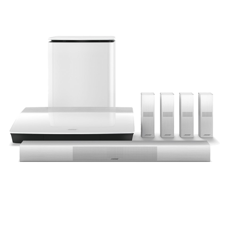 BOSE LIFESTYLE 650 White, Home Cinema System with OmniJewel speakers in White