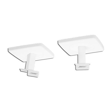 BOSE OmniJewel Ceiling Bracket White, Ceiling Bracket pair for LIFESTYLE 650  Home Cinema System - White