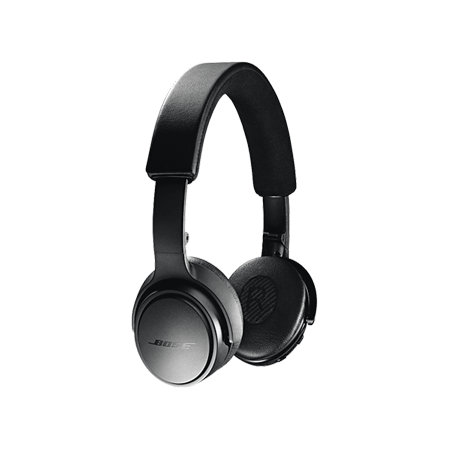 BOSE On Ear Black, On-Ear Black Wireless Headphones
