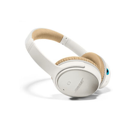 BOSE QuietComfort 25 White, Acoustic Noise Cancelling headphones