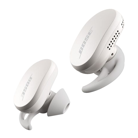 BOSE QuietComfort Earbuds Soapstone, Noise Cancelling True Wireless Sweat & Weather-Resistant Bluetooth In-Ear Headphones