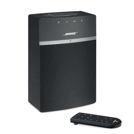 BOSE Soundtouch 10 Black, SoundTouch 10  Wireless music system with Wi-Fi and Bluetooth connectivity in Black
