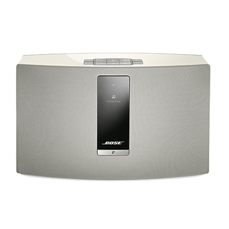 BOSE Soundtouch 20 III White, SoundTouch 20 Wi-Fi  Series III Wireless music system with Bluetooth connectivity in White.Ex-Display Model. Ex-Display Model