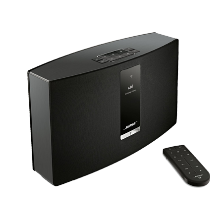 BOSE Soundtouch 30 III Black, SoundTouch 30 Wi-Fi  Series III Wireless music system with Bluetooth connectivity in Black