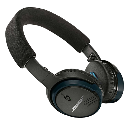 BOSE SoundLink On-Ear Black, On-Ear Bluetooth headphones in Black and Blue