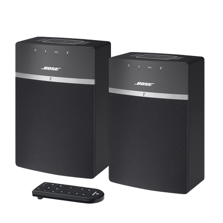 BOSE Soundtouch 10 Black Twin Pack, Soundtouch 10 Black Twin Pack (2x Units)