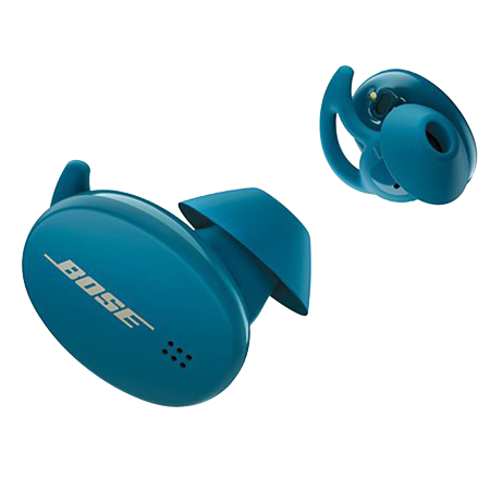 BOSE Sport Earbuds Baltic Blue, True Wireless Sweat & Weather-Resistant Bluetooth In-Ear Headphones
