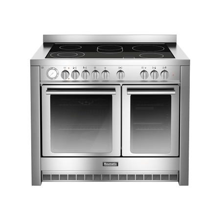 Baumatic BCE1025SS, 100cm Electric Twin Cavity Range Cooker