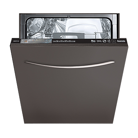 Baumatic BDIF615, 60cm Fully-Integrated Dishwasher with Button Controls, A+ Energy Rating