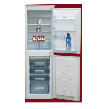 Baumatic BRCIF5050, Built-In Frost Free Fridge Freezer White