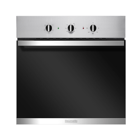 Baumatic BSO624SS, 60 cm Multifunction Electric Oven Stainless Steel